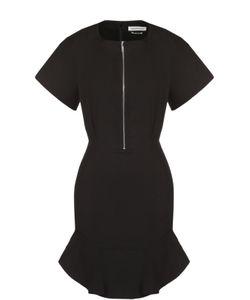 ISABEL MARANT ÉTOILE | Приталенное Мини-Платье С Круглым Вырезом На Молнии Isabel Marant Etoile