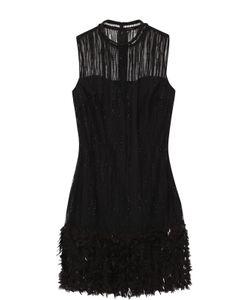 Elie Tahari | Мини-Платье С Декоративной Отделкой Без Рукавов