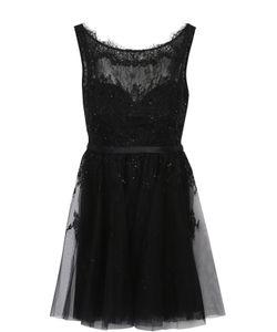 Basix Black Label | Приталенное Кружевное Мини-Платье С Открытой Спиной