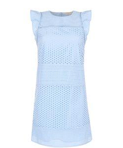 Michael Michael Kors | Кружевное Мини-Платье С Оборками