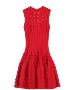 Alaïa | Приталенное Платье С Квадратным Вырезом