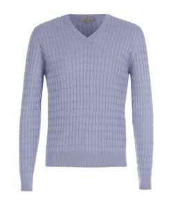 Canali | Пуловер Фактурной Вязки Из Смеси Хлопка И Шелка