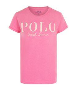Polo Ralph Lauren | Хлопковая Футболка Прямого Кроя