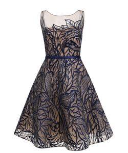 Basix Black Label | Приталенное Платье-Миди С Вышивкой Пайетками