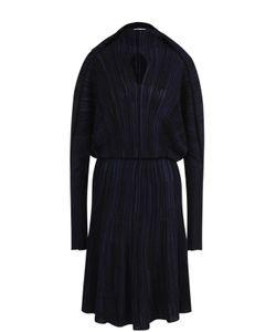 Sonia Rykiel | Вязаное Приталенное Платье С Длинным Рукавом
