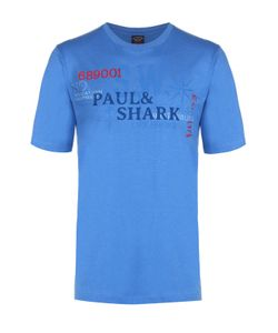 Paul & Shark | Хлопковая Футболка С Круглым Вырезом Paulshark