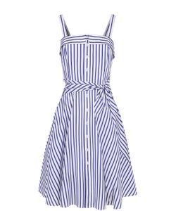 Polo Ralph Lauren | Приталенное Платье-Миди В Полоску