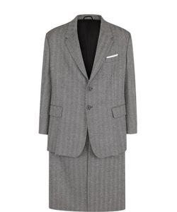Neil Barrett | Однобортное Шерстяное Пальто