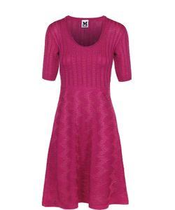Missoni | Приталенное Платье-Миди С Укороченным Рукавом M