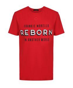 Frankie Morello | Хлопковая Футболка С Контрастным Принтом