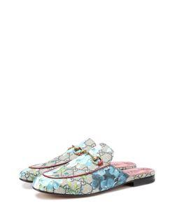 Gucci | Текстильные Сабо Princetown С Принтом