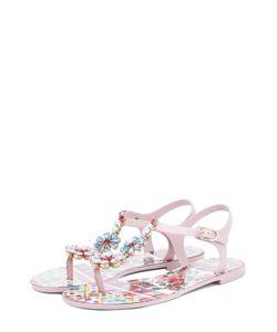Dolce & Gabbana | Сандалии Beachwear С Кристаллами