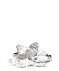 Dries Van Noten | Кожаный Ремень С Пряжкой В Виде Цветка