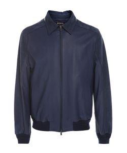 Kiton | Кожаная Куртка