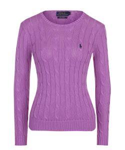 Polo Ralph Lauren | Приталенный Вязаный Пуловер С Вышитым Логотипом Бренда