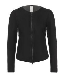 Isabel Benenato | Кожаная Куртка С Круглым Вырезом