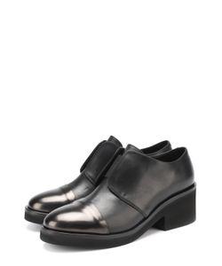 Vic Matie' | Кожаные Ботинки На Устойчивом Каблуке
