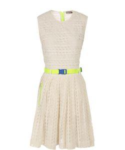 Preen Line   Платье С Ремнем