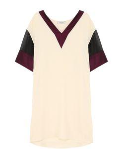 Lanvin | Мини-Платье С V-Образным Вырезом