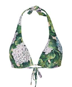 Dolce & Gabbana | Треугольный Бра С Цветочным Принтом