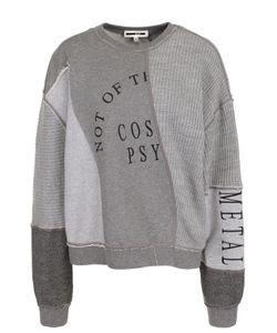 Mcq Alexander Mcqueen | Хлопковый Пуловер Свободного Кроя С Круглым Вырезом