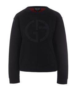 Giorgio Armani   Пуловер Свободного Кроя С Логотипом Бренда