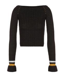 3.1 Phillip Lim | Облегающий Пуловер С Открытыми Плечами И Контрастной Отделкой