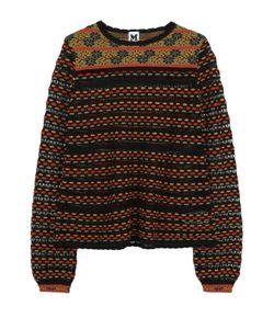 Missoni | Пуловер Из Смеси Шерсти И Хлопка С Круглым Вырезом M