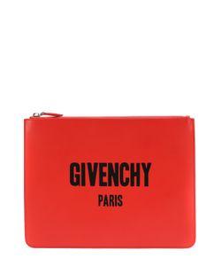 Givenchy | Кожаная Папка Для Документов На Молнии