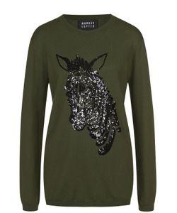 Markus Lupfer | Пуловер Прямого Кроя С Круглым Вырезом И Вышивкой Стразами