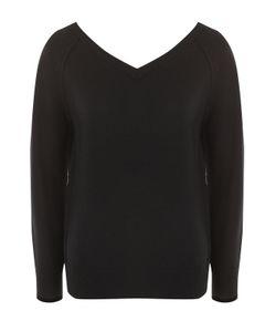 Helmut Lang | Кашемировый Пуловер С V-Образным Вырезом