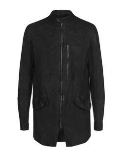 SALVATORE SANTORO | Удлиненная Кожаная Куртка На Молнии