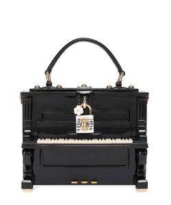 Dolce & Gabbana | Сумка Dolce Box Piano С Отделкой Из Кожи Змеи Dolce