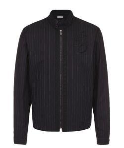 Dries Van Noten | Хлопковая Куртка На Молнии С Воротником-Стойкой