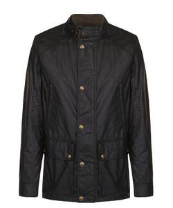 Belstaff | Хлопковая Куртка На Молнии С Воротником-Стойкой