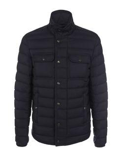 Moncler | Пуховая Стеганая Куртка С Карманами