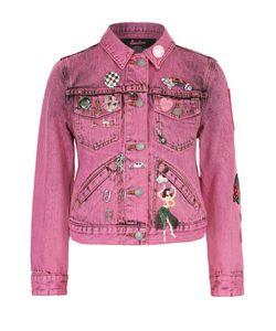 Marc Jacobs | Укороченная Джинсовая Куртка С Декоративной Отделкой