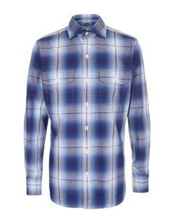 Tom Ford | Хлопковая Рубашка В Клетку