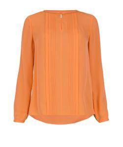 Diane Von Furstenberg | Шелковая Блуза С Вырезом-Лодочка И Фактурной Отделкой