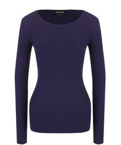 Giorgio Armani | Облегающий Пуловер С Круглым Вырезом