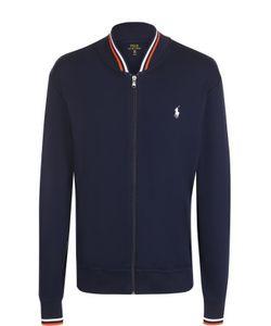 Polo Ralph Lauren | Хлопковая Толстовка На Молнии С Контрастной Отделкой