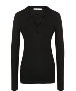 Givenchy   Шерстяной Пуловер С V-Образным Вырезом