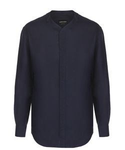 Giorgio Armani | Льняная Рубашка Свободного Кроя