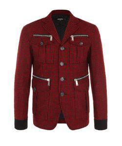 Dsquared2 | Шерстяная Куртка На Пуговицах С Отложным Воротником