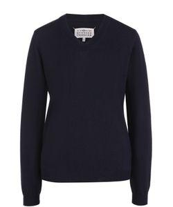 Maison Margiela | Шерстяной Пуловер С V-Образным Вырезом
