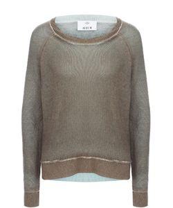 Allude | Кашемировый Пуловер Свободного Кроя С Круглым Вырезом