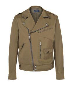 Polo Ralph Lauren | Хлопковая Куртка С Косой Молнией И Отложным Воротником