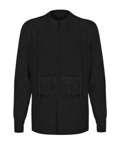 Givenchy | Шелковая Рубашка С Декоративной Отделкой