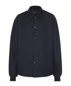 3.1 Phillip Lim | Шерстяная Рубашка На Кнопках Свободного Кроя