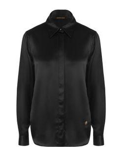 Roberto Cavalli | Шелковая Блуза Прямого Кроя